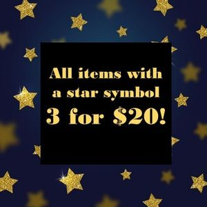 Shirts - ALL ITEMS WITH STAR ARE 3 FOR $20